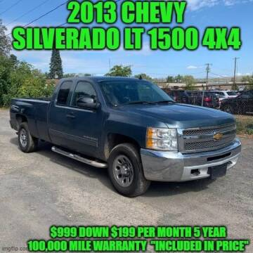 2013 Chevrolet Silverado 1500 for sale at D&D Auto Sales, LLC in Rowley MA