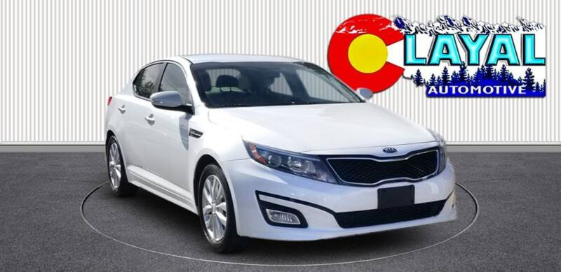 2015 Kia Optima for sale at Layal Automotive in Englewood CO