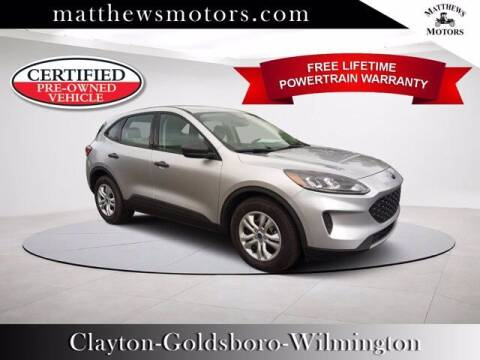 2020 Ford Escape for sale at Auto Finance of Raleigh in Raleigh NC