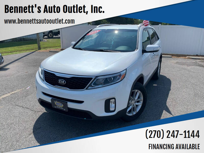 2014 Kia Sorento for sale at Bennett's Auto Outlet, Inc. in Mayfield KY