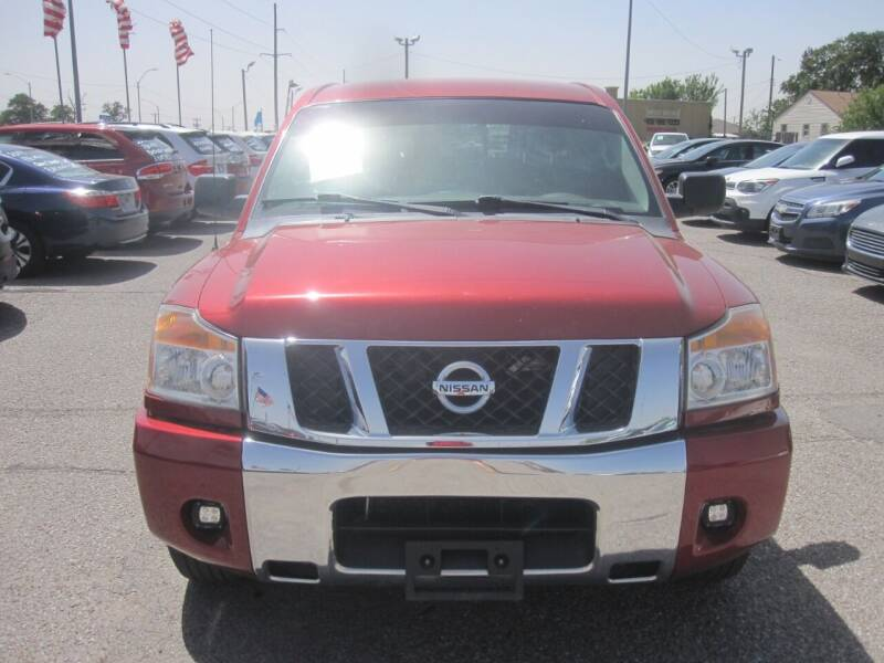 2013 Nissan Titan for sale at T & D Motor Company in Bethany OK