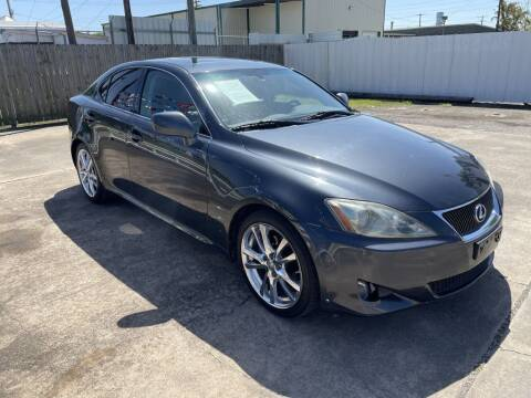 2007 Lexus IS 250 for sale at AMERICAN AUTO COMPANY in Beaumont TX