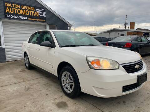 2007 Chevrolet Malibu for sale at Dalton George Automotive in Marietta OH