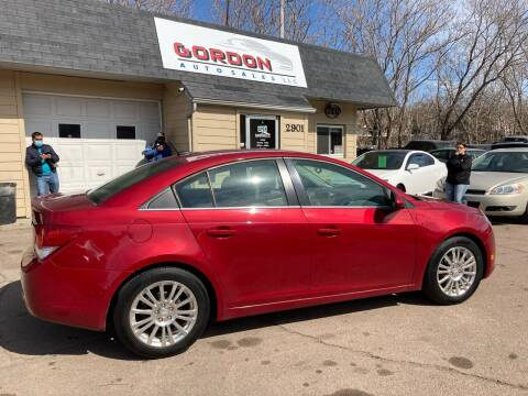 2014 Chevrolet Cruze for sale at Gordon Auto Sales LLC in Sioux City IA