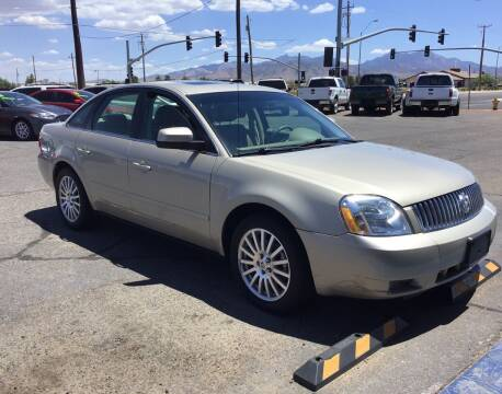 2005 Mercury Montego for sale at SPEND-LESS AUTO in Kingman AZ