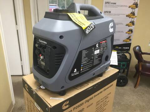 2020 Onan Portable Generator P2500i for sale at Custom Auto Sales - MISCELLANEOUS in Longview TX