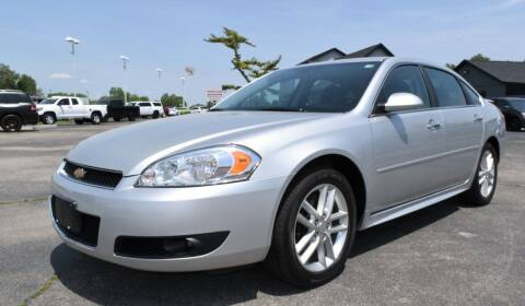 2013 Chevrolet Impala for sale at Heritage Automotive Sales in Columbus in Columbus IN