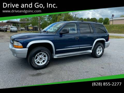 2003 Dodge Durango for sale at Drive and Go, Inc. in Hickory NC