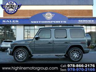 2020 Mercedes-Benz G-Class for sale at Highline Group Motorsports in Lowell MA