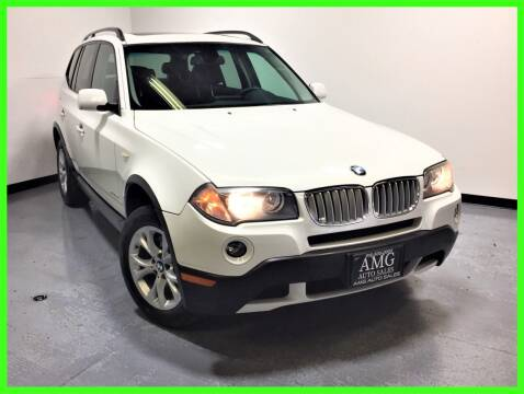 2009 BMW X3 for sale at AMG Auto Sales in Rancho Cordova CA