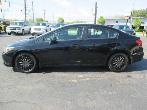 2012 Honda Civic for sale at Home Street Auto Sales in Mishawaka IN