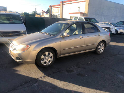 2007 Kia Spectra for sale at Universal Motors in Glendora CA