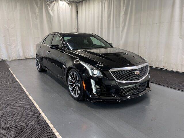 2019 Cadillac CTS-V for sale at Monster Motors in Michigan Center MI