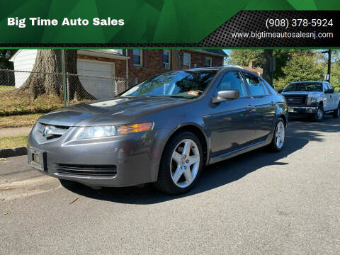 2004 Acura TL for sale at Big Time Auto Sales in Vauxhall NJ