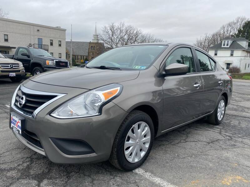 2017 Nissan Versa for sale at 1NCE DRIVEN in Easton PA