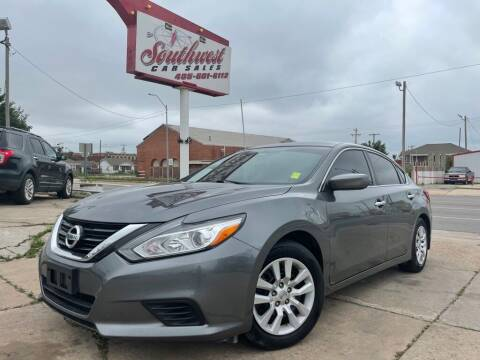 2017 Nissan Altima for sale at Southwest Car Sales in Oklahoma City OK