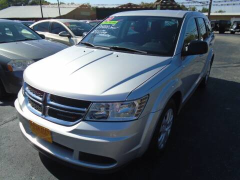 2014 Dodge Journey for sale at River City Auto Sales in Cottage Hills IL