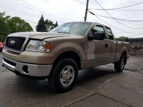 2007 Ford F-150 for sale at DALE'S AUTO INC in Mount Clemens MI