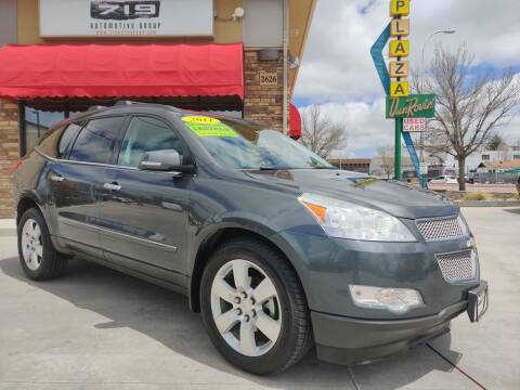 2011 Chevrolet Traverse for sale at 719 Automotive Group in Colorado Springs CO