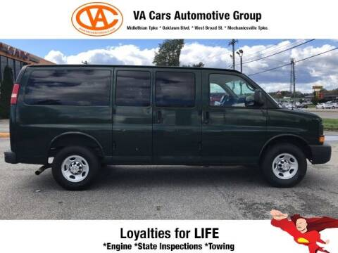 2012 Chevrolet Express Passenger for sale at VA Cars Inc in Richmond VA
