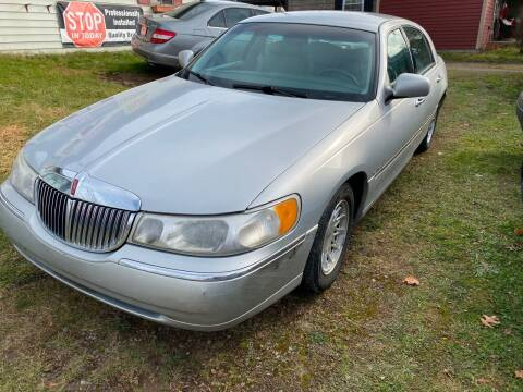 1999 Lincoln Town Car for sale at Richard C Peck Auto Sales in Wellsville NY