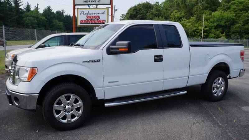 2013 Ford F-150 for sale at G & R Auto Sales in Charlestown IN