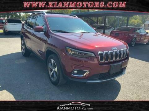 2019 Jeep Cherokee for sale at KIAN MOTORS INC in Plano TX