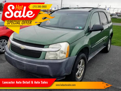 2005 Chevrolet Equinox for sale at Lancaster Auto Detail & Auto Sales in Lancaster PA