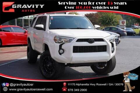 2016 Toyota 4Runner for sale at Gravity Autos Roswell in Roswell GA