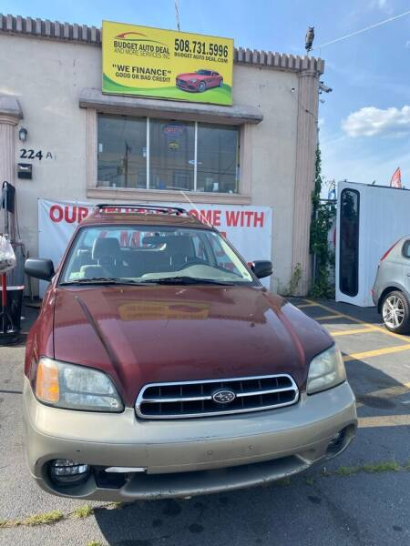 2001 Subaru Outback for sale at Budget Auto Deal and More Services Inc in Worcester MA