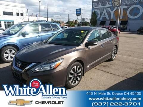 2016 Nissan Altima for sale at WHITE-ALLEN CHEVROLET in Dayton OH