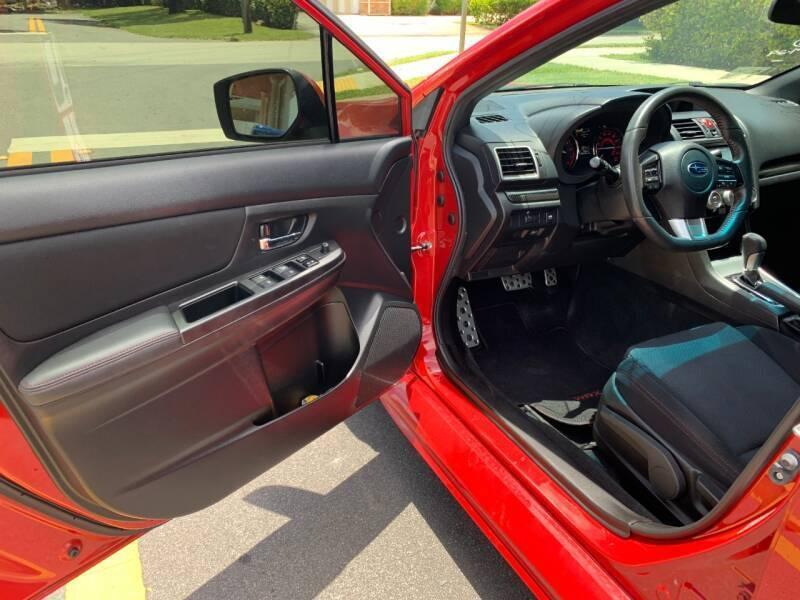 2015 Subaru WRX AWD Premium 4dr Sedan CVT - Davie FL