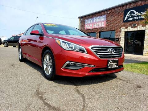 2015 Hyundai Sonata for sale at AUTO BARGAIN, INC. #2 in Oklahoma City OK