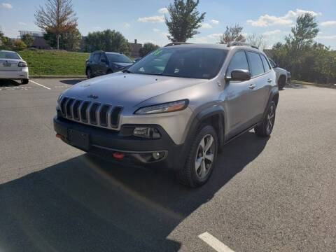 2018 Jeep Cherokee for sale at SOUTH AMERICA MOTORS in Sterling VA