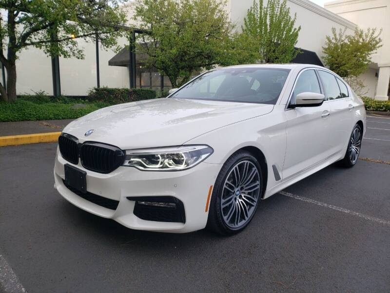 2017 BMW 5 Series for sale at Painlessautos.com in Bellevue WA