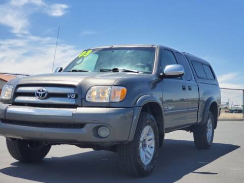 2003 Toyota Tundra for sale at FRESH TREAD AUTO LLC in Springville UT