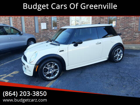 2005 MINI Cooper for sale at Budget Cars Of Greenville in Greenville SC