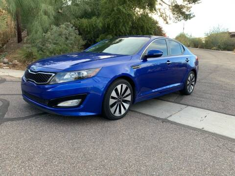 2013 Kia Optima for sale at BUY RIGHT AUTO SALES in Phoenix AZ