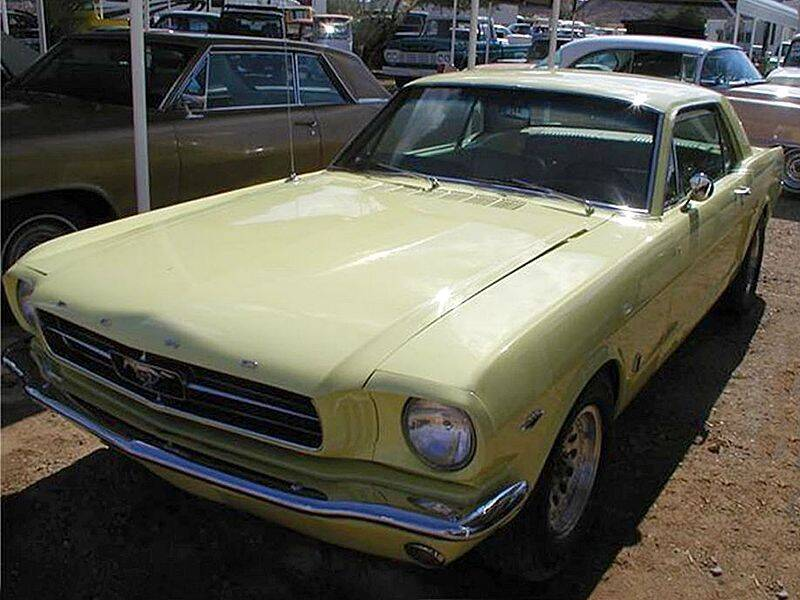 1965 Ford Mustang for sale at Collector Car Channel - Desert Gardens Mobile Homes in Quartzsite AZ