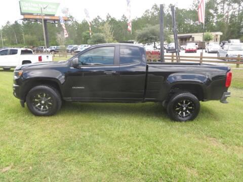 2016 Chevrolet Colorado for sale at Ward's Motorsports in Pensacola FL