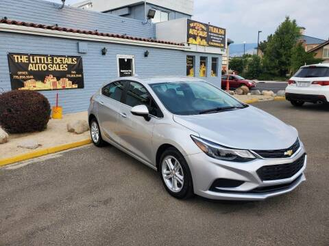 2018 Chevrolet Cruze for sale at The Little Details Auto Sales in Reno NV