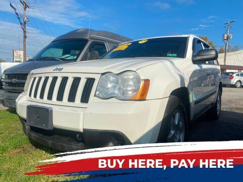 2008 Jeep Grand Cherokee for sale at WINNERS CIRCLE AUTO EXCHANGE in Ashland KY
