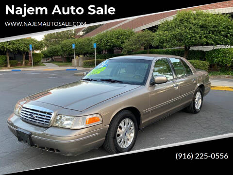 2003 Ford Crown Victoria for sale at Najem Auto Sale in Sacramento CA
