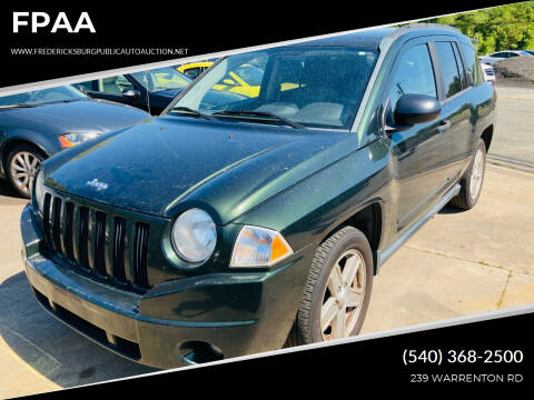 2010 Jeep Compass for sale at FPAA in Fredericksburg VA