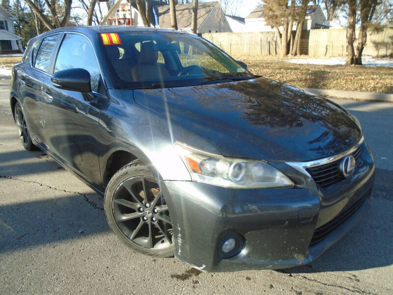 2011 Lexus CT 200h for sale at Sunshine Auto Sales in Kansas City MO