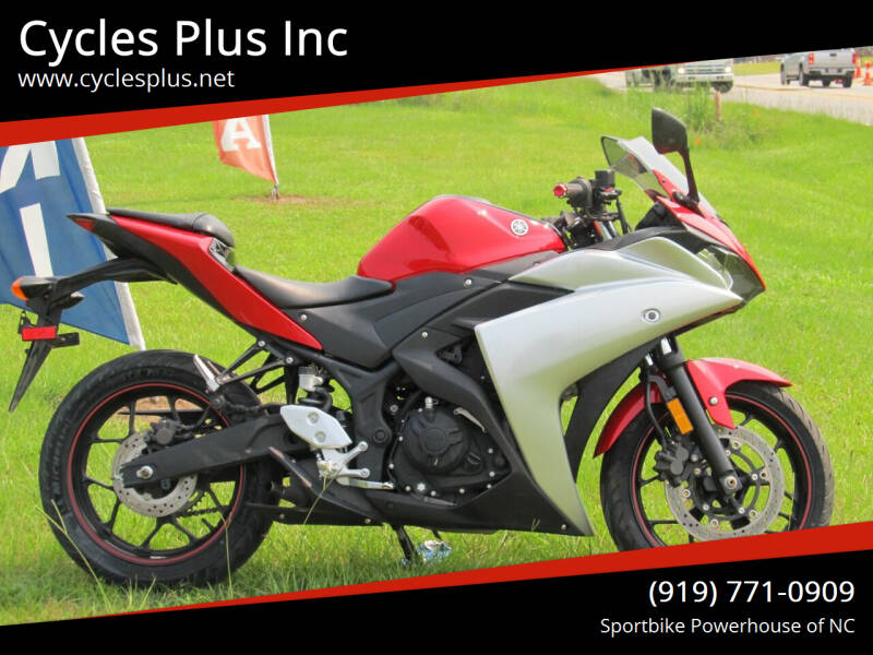2016 Yamaha YZF R3 for sale at Cycles Plus Inc in Garner NC