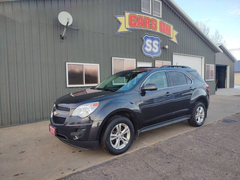 2015 Chevrolet Equinox for sale at CARS ON SS in Rice Lake WI