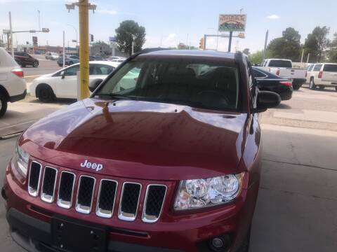 2012 Jeep Compass for sale at Fiesta Motors Inc in Las Cruces NM