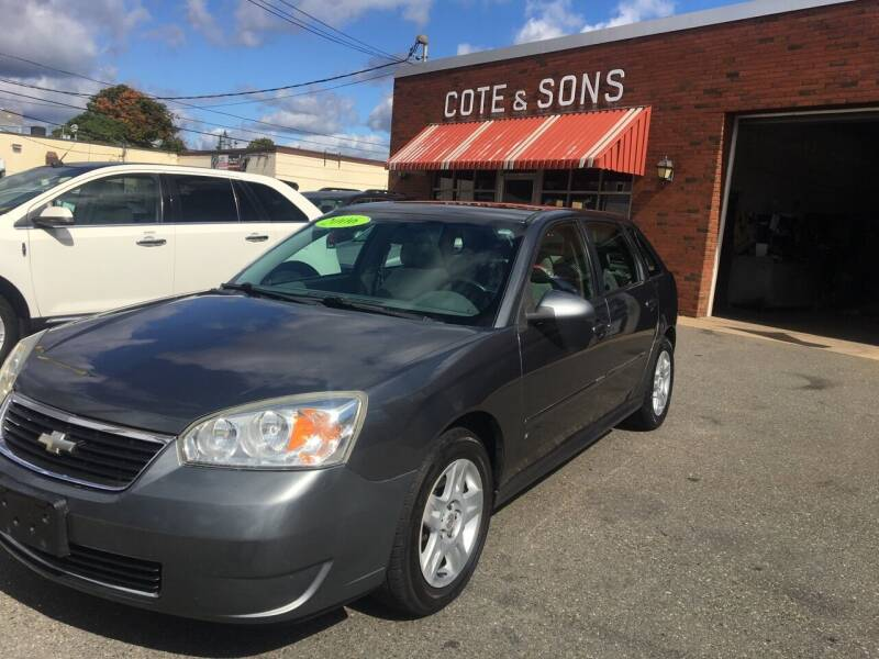 2006 Chevrolet Malibu Maxx for sale at Cote & Sons Automotive Ctr in Lawrence MA