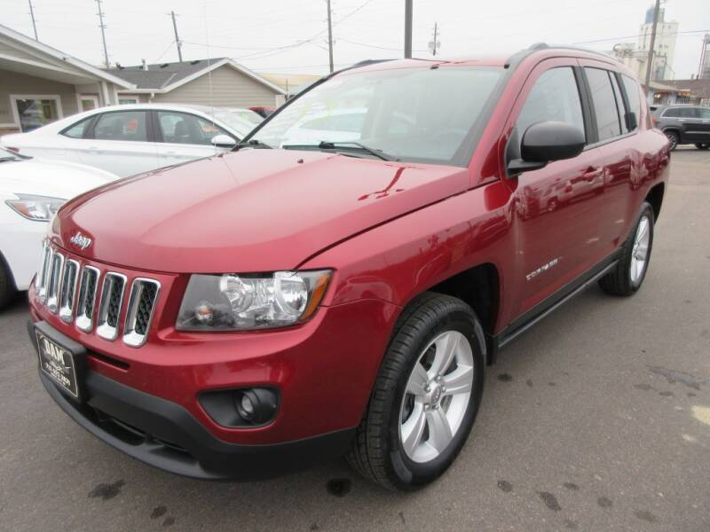 2016 Jeep Compass for sale at Dam Auto Sales in Sioux City IA